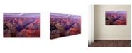 "Trademark Global Mike Jones Photo 'Grand Canyon near Mather Point' Canvas Art - 47"" x 30"" x 2"""