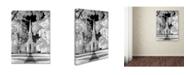 "Trademark Global Mike Jones Photo 'Westfield Church Infrared' Canvas Art - 32"" x 24"" x 2"""