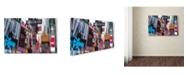 """Trademark Global Moises Levy '42st' Canvas Art - 47"""" x 30"""" x 2"""""""