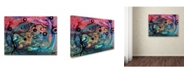 "Trademark Global Natasha Wescoat 'Soul Speed' Canvas Art - 32"" x 24"" x 2"""