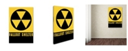"Trademark Global Vintage Apple Collection 'Fallout Shelter' Canvas Art - 32"" x 22"" x 2"""