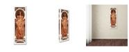 "Trademark Global Vintage Lavoie 'Ad 16' Canvas Art - 19"" x 6"" x 2"""