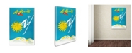"Trademark Global Vintage Lavoie 'Travel 47' Canvas Art - 47"" x 30"" x 2"""