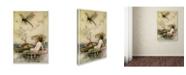 "Trademark Global Vintage Lavoie 'Warwick Goble' Canvas Art - 24"" x 16"" x 2"""