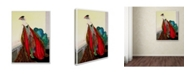 "Trademark Global Vintage Lavoie 'Women 4' Canvas Art - 47"" x 35"" x 2"""