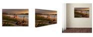 "Trademark Global Robert Harding Picture Library 'Beachy 1' Canvas Art - 19"" x 12"" x 2"""