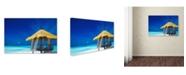 "Trademark Global Robert Harding Picture Library 'Beachy 34' Canvas Art - 32"" x 22"" x 2"""
