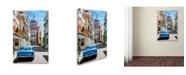 "Trademark Global Robert Harding Picture Library 'Blue Car' Canvas Art - 32"" x 22"" x 2"""
