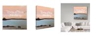"Trademark Global Tammy Kushnir 'Far Away' Canvas Art - 18"" x 18"" x 2"""