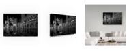"Trademark Global Moises Levy 'Aqua Alta Landscape' Canvas Art - 19"" x 12"" x 2"""
