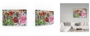 "Trademark Global Moises Levy 'Market Mural' Canvas Art - 19"" x 12"" x 2"""