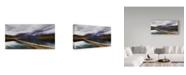 "Trademark Global Nicolas Marino 'Riders Of The Path' Canvas Art - 32"" x 2"" x 16"""