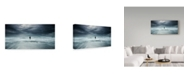 "Trademark Innovations Paulo Dias 'Fishing A Dream' Canvas Art - 32"" x 2"" x 16"""