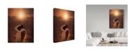 "Trademark Global Jake Olson 'Nearing Spring' Canvas Art - 18"" x 2"" x 24"""