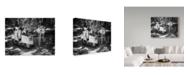 """Trademark Global Pete Richardson 'Vespa A Riposo' Canvas Art - 47"""" x 2"""" x 35"""""""