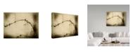 """Trademark Global Jeffrey Hummel 'Zen Silhouette' Canvas Art - 24"""" x 2"""" x 18"""""""