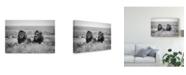 "Trademark Global Nicolas Merino 'Two Kings' Canvas Art - 19"" x 2"" x 12"""