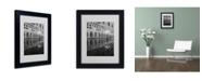 "Trademark Global Moises Levy 'Venetia Reflection' Matted Framed Art - 14"" x 11"" x 0.5"""