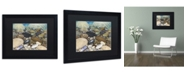 "Trademark Global Stephen Stavast 'Shoreline Treasures' Matted Framed Art - 16"" x 20"" x 0.5"""