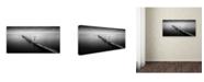 """Trademark Global Moises Levy '3 Palos' Canvas Art - 24"""" x 12"""" x 2"""""""
