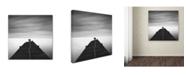 "Trademark Global Moises Levy 'Free' Canvas Art - 24"" x 24"" x 2"""