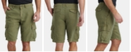 Lucky Brand Men's Linen Cargo Shorts