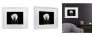"Trademark Global Natalia Baras 'Dance' Matted Framed Art - 14"" x 11"" x 0.5"""
