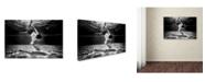 "Trademark Global Murat Aslankara 'Mercan' Canvas Art - 24"" x 16"" x 2"""