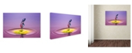 """Trademark Global Muhammad Berkati 'Lady' Canvas Art - 24"""" x 16"""" x 2"""""""