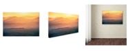 "Trademark Global Naphat Chantaravisoot 'Dreamy Morning' Canvas Art - 32"" x 22"" x 2"""