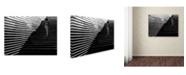 "Trademark Global Vlad Sidorak 'Stripes' Canvas Art - 24"" x 18"" x 2"""