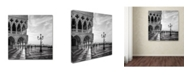 "Trademark Innovations Nigel Snape 'Early Morning Venice' Canvas Art - 18"" x 18"" x 2"""