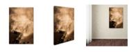 "Trademark Global Murat Cacim 'Tozlu Yolculuk' Canvas Art - 19"" x 12"" x 2"""