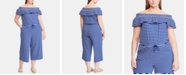 Lauren Ralph Lauren Plus Size Ruffled Jumpsuit