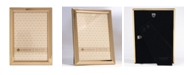 """Lawrence Frames Gold Metal Picture Frame - Classic Bevel - 5"""" x 7"""""""
