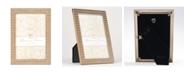 "Lawrence Frames Gold Metal Frame - Gold Diamond Pattern - 4"" x 6"""