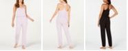 Alfani Knit Pajama Jumpsuit, Created for Macy's