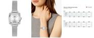 Tissot Women's Swiss T-Lady Lovely Diamond Accent Stainless Steel Mesh Bracelet Watch 20mm