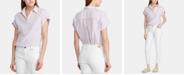 Lauren Ralph Lauren Stripe-Print Linen Shirt