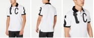 Just Cavalli Men's Letter Logo Graphic Polo Shirt