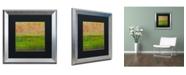 """Trademark Global Michelle Calkins 'Summer Fields' Matted Framed Art - 16"""" x 16"""""""