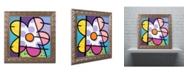 "Trademark Global Roberto Rafael 'Big Flower I' Ornate Framed Art - 16"" x 16"""