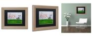 """Trademark Global Nicole Dietz 'Fox Sky' Matted Framed Art - 11"""" x 14"""""""