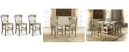 Furniture Layla Counter Stool, 3-Pc. Set (3 Counter Stools)