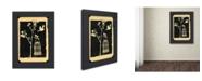 "Trademark Global Wyanne 'Believe Gocco Print' Canvas Art - 14"" x 19"""