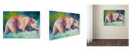 "Trademark Global Marion Rose 'Spirit Legend' Canvas Art - 14"" x 19"""