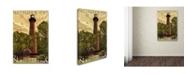 "Trademark Global Lantern Press 'Travel 57' Canvas Art - 12"" x 19"""