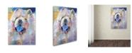 """Trademark Global Richard Wallich 'Art Chow' Canvas Art - 14"""" x 19"""""""