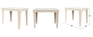 WHITEWOOD INDUSTRIES/INTNL CONCEPTS International Concepts Aspen Solid Wood Top Table - Counterheight Dining