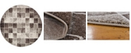 Bridgeport Home Maasai Mss1 Light Brown 6' x 6' Round Area Rug
